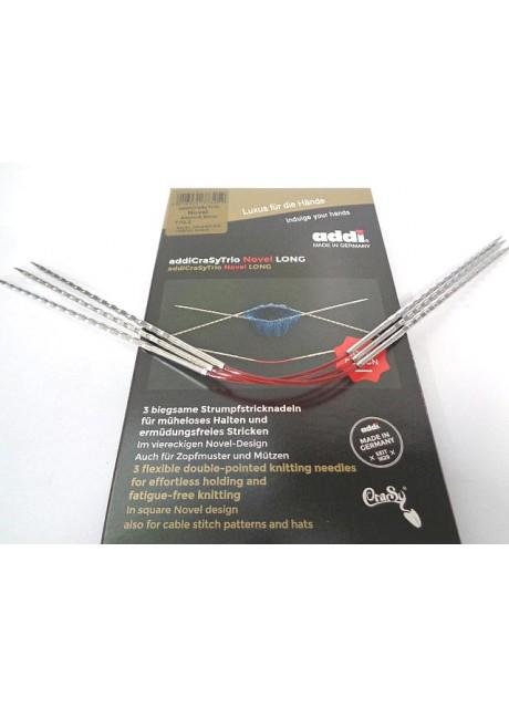 AddiCrasyTrio Novel Long  needles