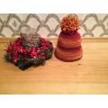 Crochet pompom hat no. 54-56
