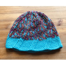 Crochet hat  Merino no. 54-56