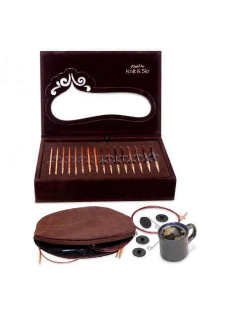 Knitpro Knit & Sip set