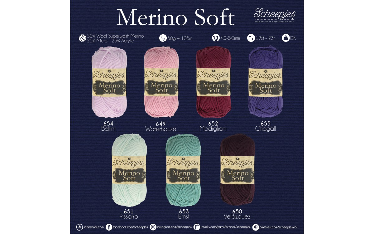 NEW SHADES OF MERINO SOFT